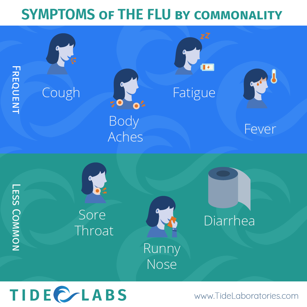 Symptoms of the Flu by commanlity.